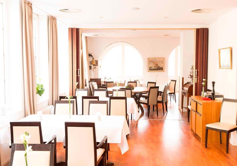 Kogge Restaurant Hotel Bar Elsfleth Festlich